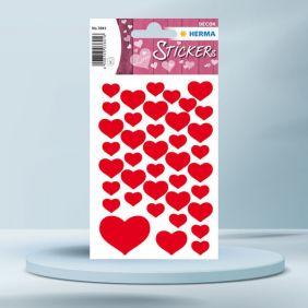 Sticker Decor, cu inimioare...