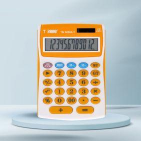 Calculator 12 dig, portocaliu